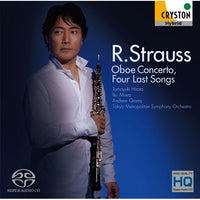 R. STRAUSS : Oboe Concerto, Four Last Songs / Tomoyuki Hirota [Oboe] [CD]