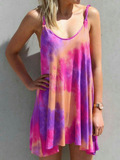 Casual Tie dye Dress