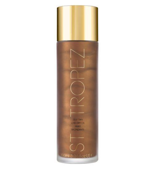 St Tropez 100ml Self Tan Dry Luxury Oil