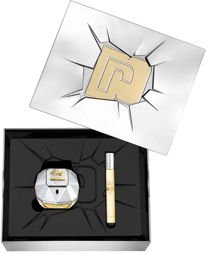 Paco Rabanne Lady Million Lucky 80ml EDP Spray / 10ml Travel Spray
