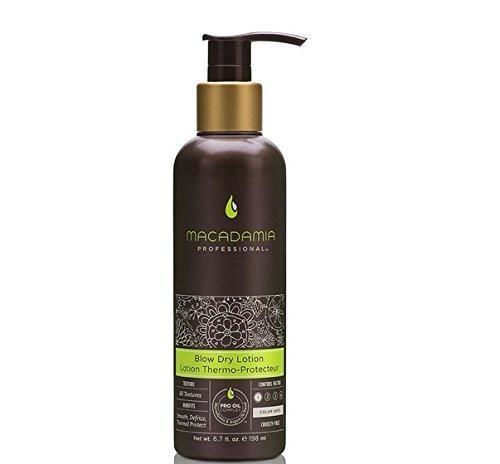 Macadamia 198ml Blow Dry Lotion Thermo- Protecteur