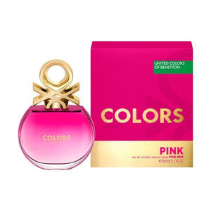 Benetton Colors for Her Pink 80ml EDT Spray