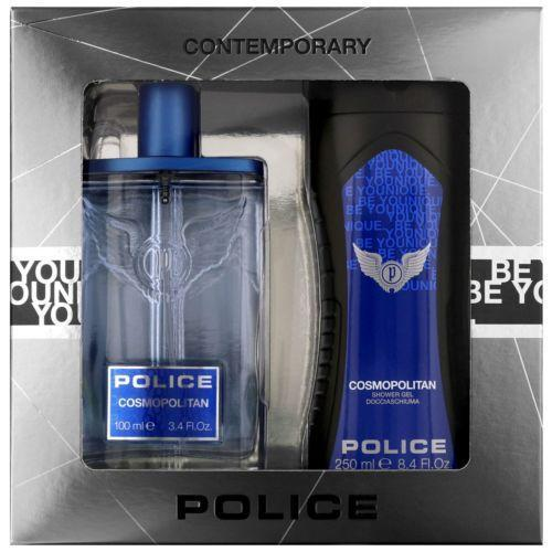 Police Cosmopolitan 100ml  &  Shower Gel Gift Set