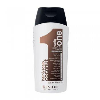 Revlon 300ml Uniq One Coconut Hair & Scalp Conditioning Shampoo