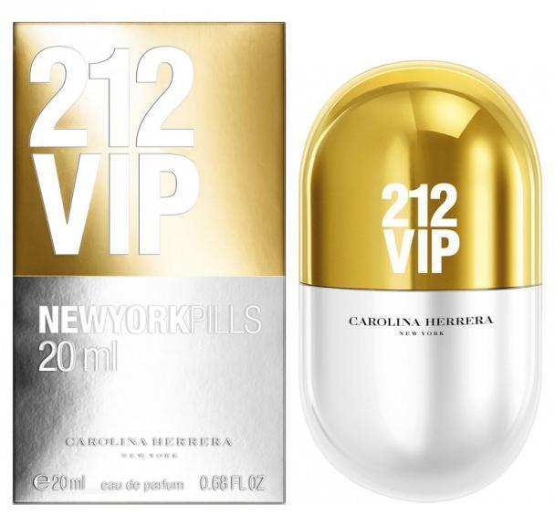 Carolina Herrera 212 VIP New York Pills 20ml EDP Spray