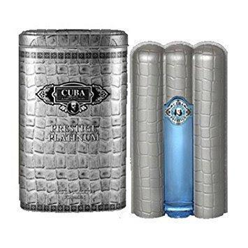 Cuba Prestige Platinum 90ml EDT Spray
