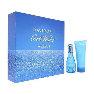 Cool Water Woman 50ml EDT Gift Set