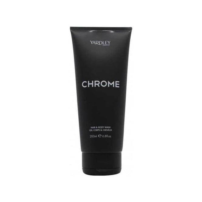 Yardley Chrome 200ml Hair& Body Wash