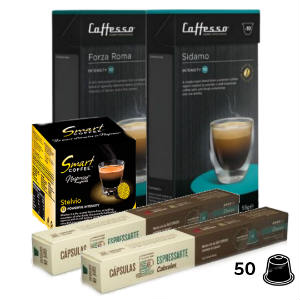 Pack Intenso Compatible Nespresso | CoffeeLovers Comprar Café