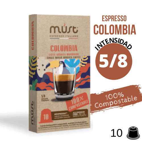 Must Colombia cápsulas Compostables Nespresso®