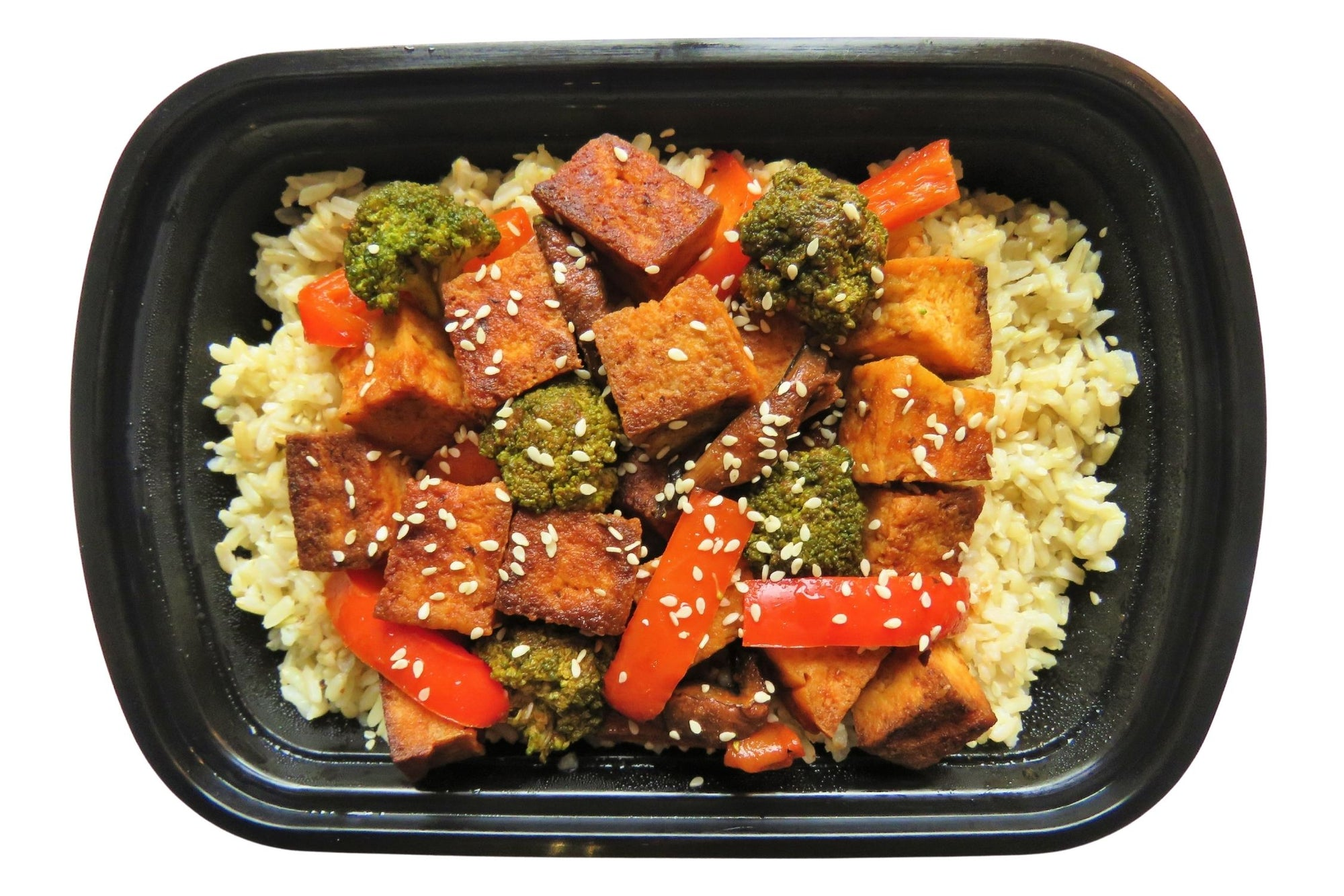 Sweet & Spicy Asian Tofu