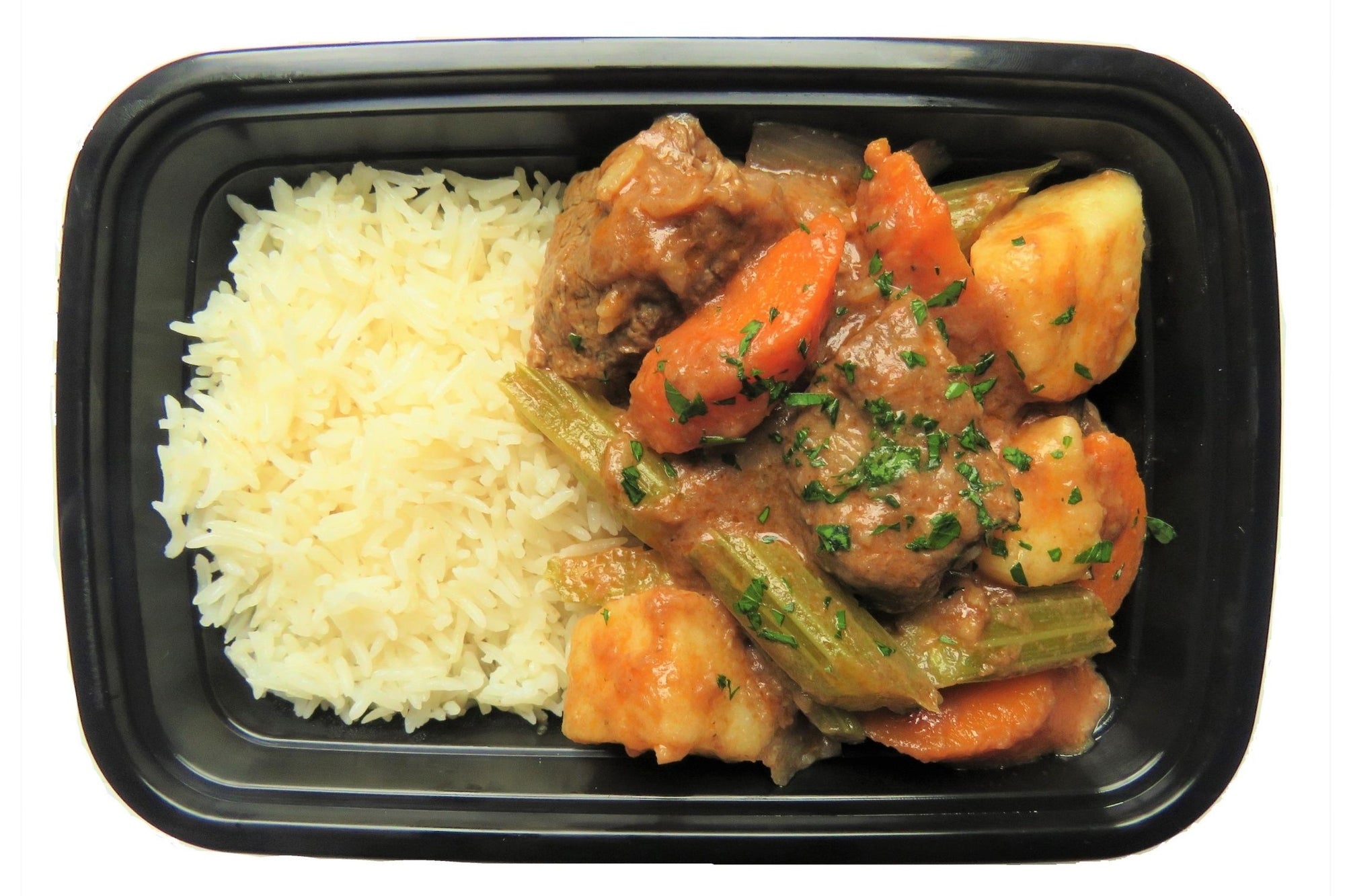 Classic Beef Stew with Basmati Rice