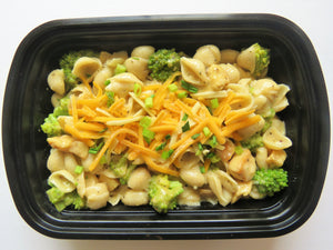 Creamy Chicken Broccoli Shells - GreenMeal Inc.
