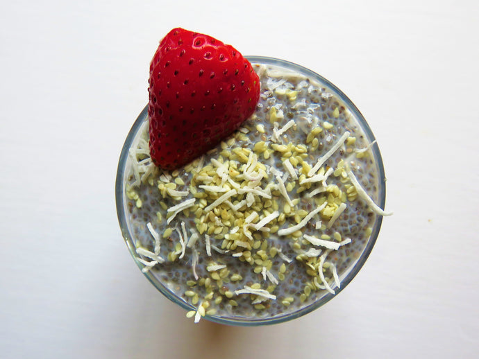 Vegan Chia Seed Pudding - GreenMeal Inc.
