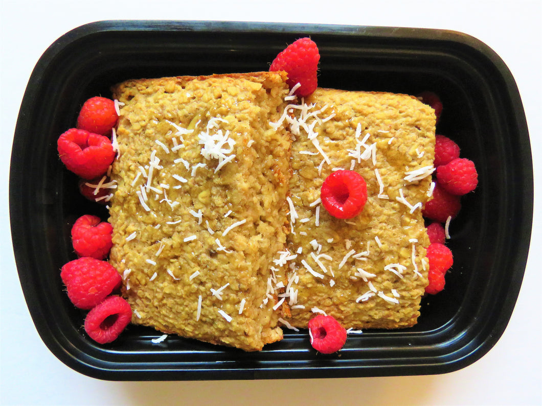 Banana Baked Oats -Greenmeal Daily Meal Delivery Toronto