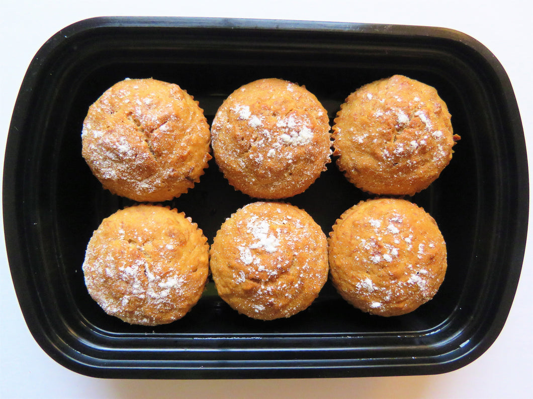 Healthy Banana Cupcakes - GreenMeal Inc.