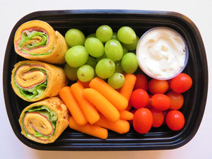 Turkey Breast and Cheese Pinwheels - GreenMeal Inc.