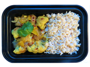 Cauliflower Curry - GreenMeal Inc.