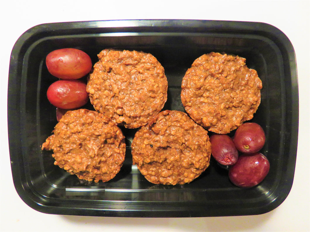 Chocolate Peanut Butter Protein Oatmeal Cups - GreenMeal Inc.