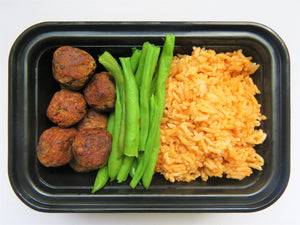 Mexican Rice & Black Bean Meat Balls - GreenMeal Inc.