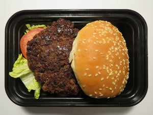 House-made Beef Burger - GreenMeal Inc.
