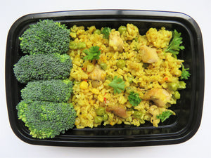 Saffron Chicken Mixed Rice - GreenMeal Inc.