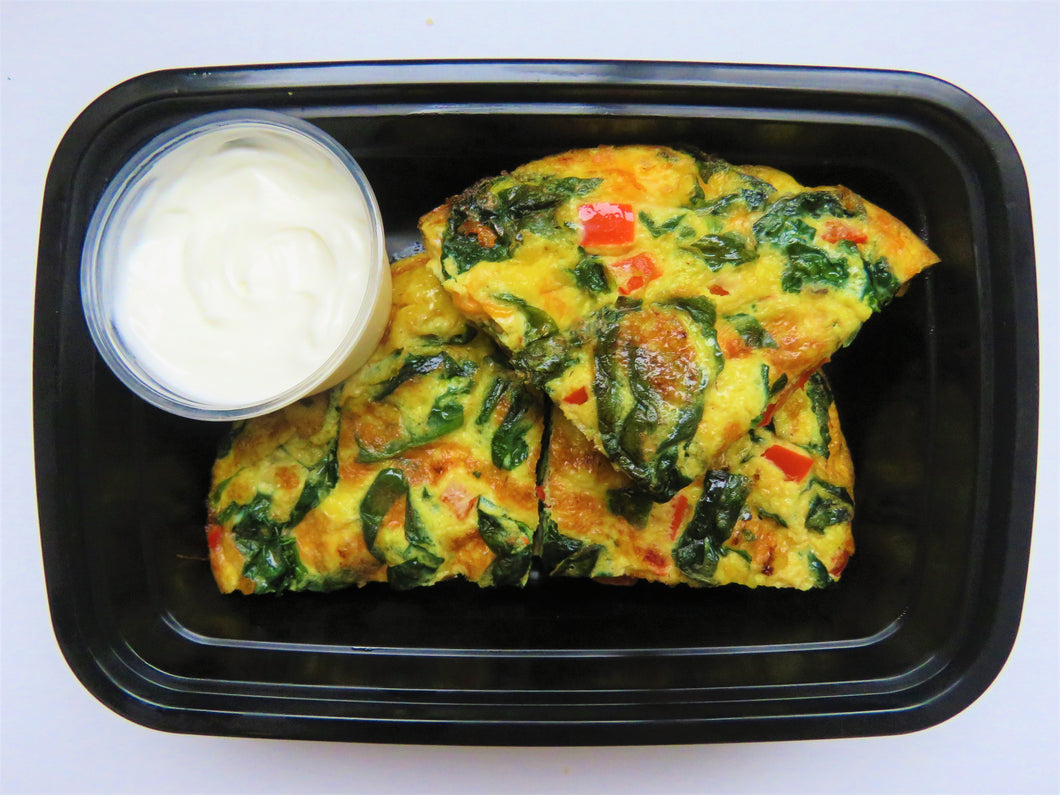 Vegetable Frittata - GreenMeal Inc.