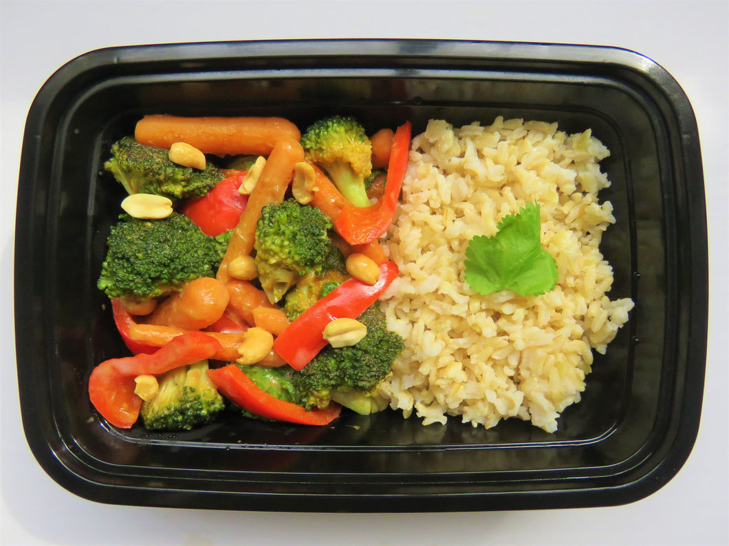 Spicy Coconut Vegetable Stir Fry - GreenMeal Inc.
