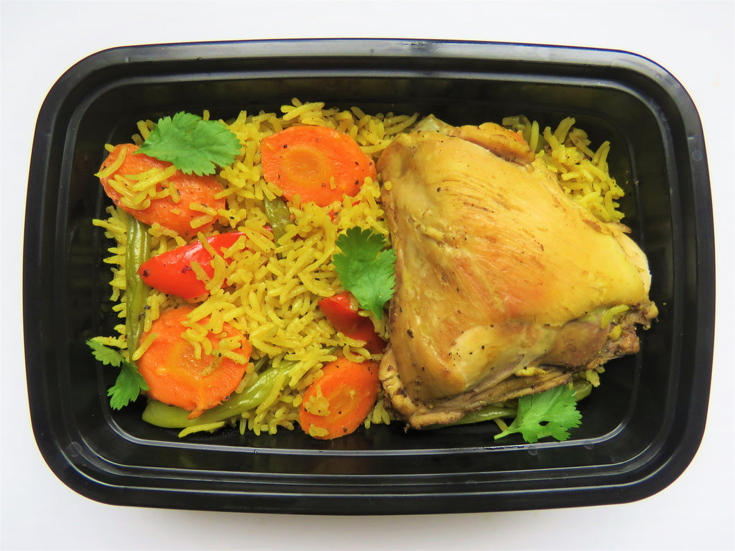 Thai Coconut Yellow Curry Chicken & Rice - GreenMeal Inc.