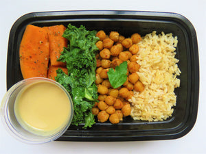 Sweet Potato Chickpea Buddha Bowl - GreenMeal Inc.