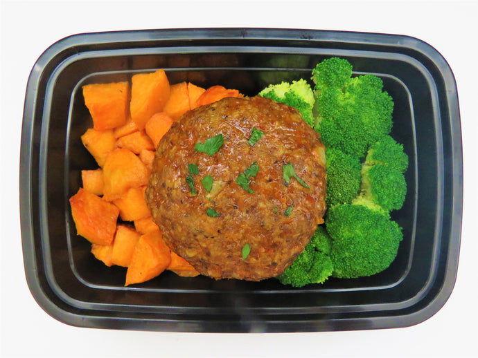 Beef Burger - GreenMeal Meals for Athletes