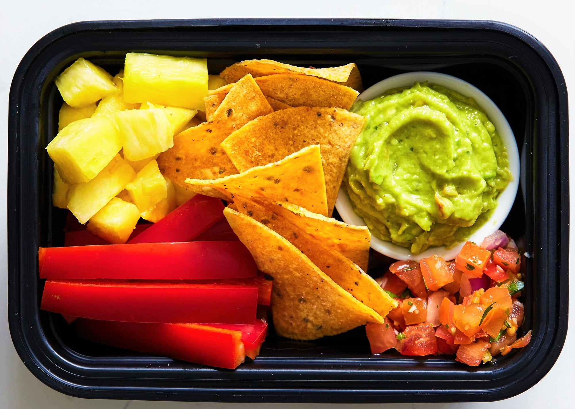 House-made Chips and Dips Snack Box - GreenMeal Inc.
