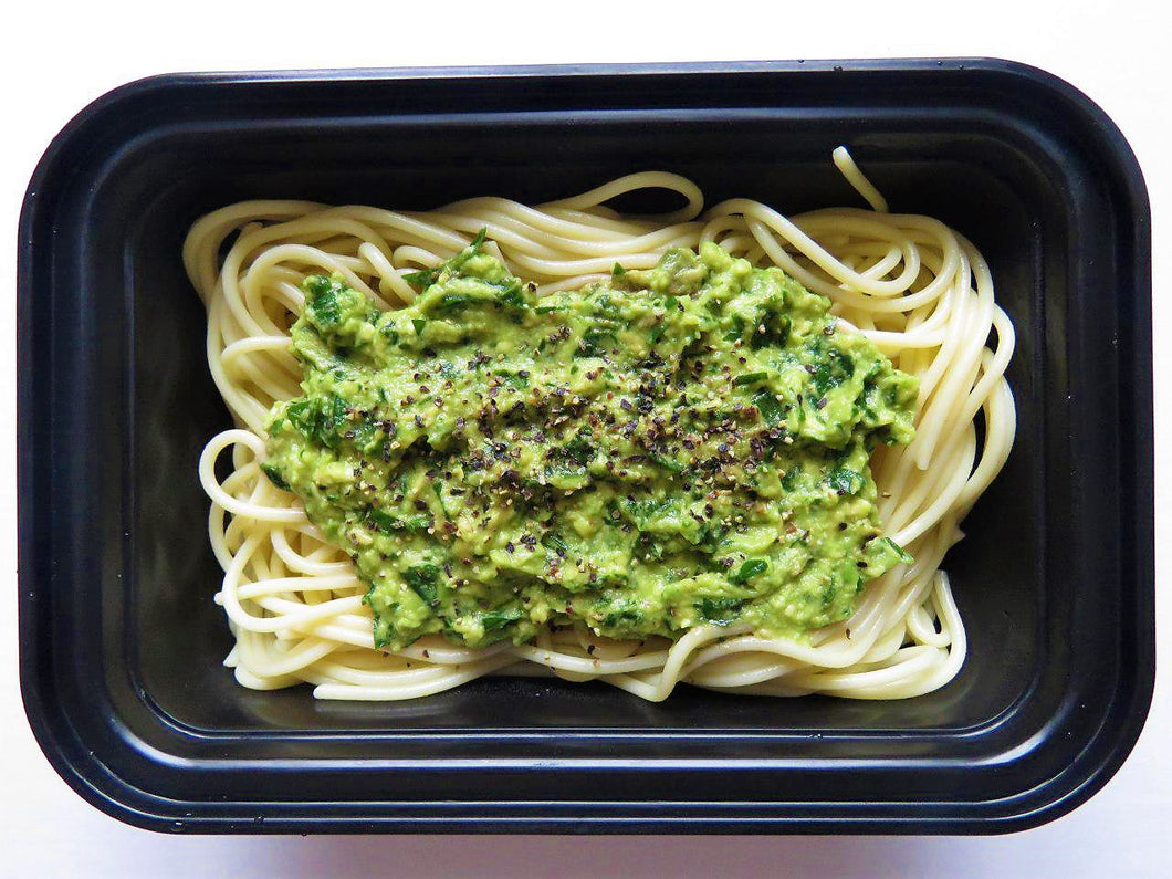 Creamy Chicken Avocado Spaghetti - GreenMeal Inc.