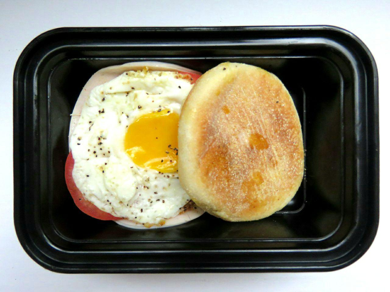 Classic Egg & Ham Muffin - GreenMeal Inc.