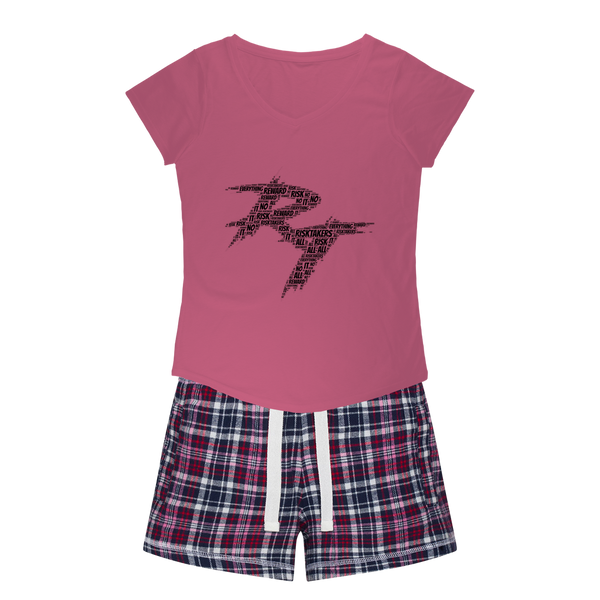 word cloud Girls Sleepy Tee and Flannel Short
