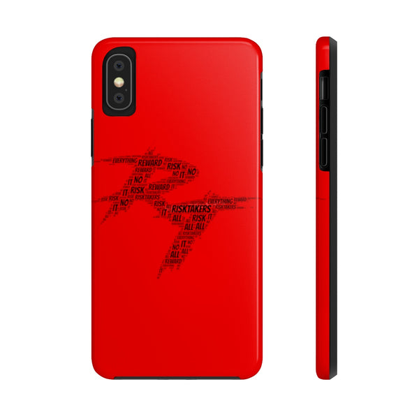 RT Word Cloud Phone Case (Red)
