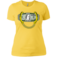 Money Ladies' Boyfriend T-Shirt