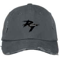 rt logo Distressed Dad Cap