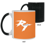 Rt Logo White Color Changing Mug