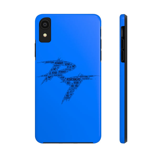 "RT ""word cloud"" Phone Case (blue)"