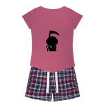 Son Of S.A.M Girls Sleepy Tee and Flannel Short