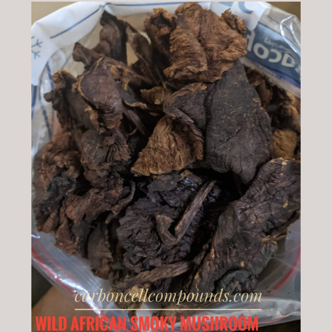 🌿Wild African Smoky Mushroom Sundried (Country of Origin. Uganda)