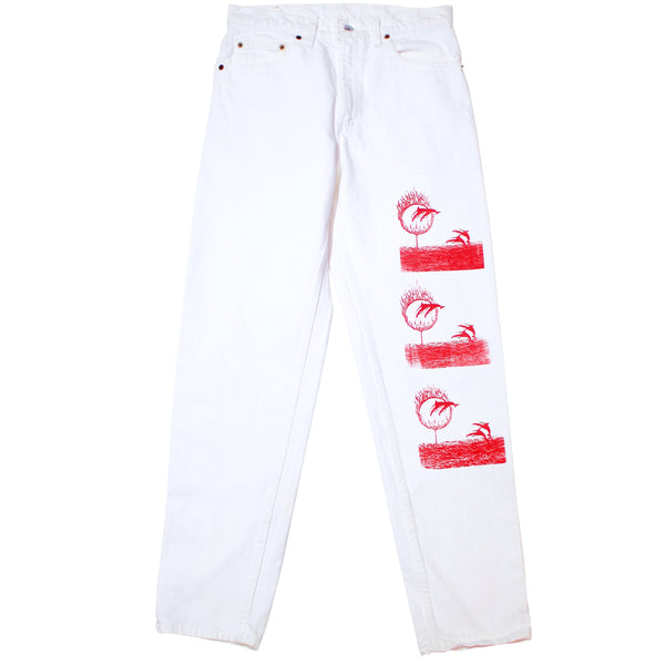 RED DOLPHIN PANTS