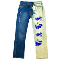 OAK ACID WASH PANTS