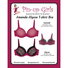 Load image into Gallery viewer, Amanda Alyssa Foam Cup Bra Pattern