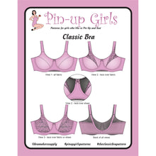 Load image into Gallery viewer, Classic Bra Pattern