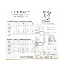Load image into Gallery viewer, Elite Panty Pattern