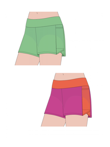 Jalie Swim Shorts/Sleep Shorts Pattern 3351