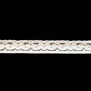 "1/2"" White and Colored Stretch Lace #103"