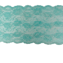 "Load image into Gallery viewer, 8"" Glacier Blue Stretch Lace #206"